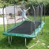 <strong>Summit 14' Rectangle Trampoline with Safety Enclosure</strong> by Skywalker Trampolines