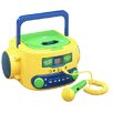 Buhl Kids Audio CD Player Karaoke Machine with Microphone