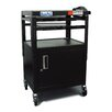<strong>Height Adjustable AV Media Cart with Security Cabinet</strong> by Buhl