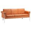 dCOR design Singular Leatherette Sofa