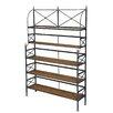 """Sarreid Ltd Bistro 76"""" Bookcase"""