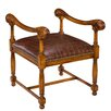 Sarreid Ltd The Kings Taboret Arm Chair