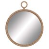 Woodland Imports Rope Pier Wall Mirror