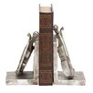 <strong>Woodland Imports</strong> Knackery Violin Book Ends (Set of 2)