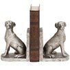 Woodland Imports Shiny Dog Book Ends (Set of 2)