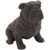 Woodland Imports Charming Bulldog Statue