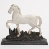 <strong>Woodland Imports</strong> Polystone Trotting Horse Showpiece Statue