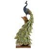 Woodland Imports Irish Styled Peacock Décor Figurine