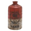 Woodland Imports Decorative Bottle with Wire Mesh