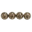 <strong>Woodland Imports</strong> Mosaic Decorative Ball (Set of 4)