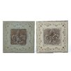 <strong>2 Piece Wall Décor Set</strong> by Woodland Imports