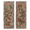 <strong>Woodland Imports</strong> 2 Piece Attractive Wall Décor Set