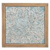 Woodland Imports Floral Plaque Wall Décor