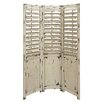 "<strong>Woodland Imports</strong> 72"" x 48"" Multi-Purpose 3 Panel Room Divider"