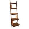 "Woodland Imports Leaning Ladder 69"" Bookcase"