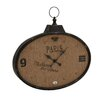 Woodland Imports The Enthralling Customary Styled Metal Wall Clock