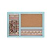 """Woodland Imports Attractive and Lovely Memo 1' 1"""" x 1' 8"""" Bulletin Board"""