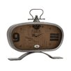<strong>Woodland Imports</strong> Manhattan Unique Styled Metal Table Clock