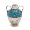 <strong>Stunning Metal Mosaic Vase</strong> by Woodland Imports