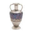 Woodland Imports Dashing Metal Mosaic Vase