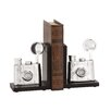 <strong>Fancy Styled Aluminum Bookend (Set of 2)</strong> by Woodland Imports