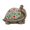 Woodland Imports The Cutest Polystone Mosaic Turtle