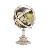 Woodland Imports The Colorful Metal World Globe