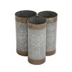 Woodland Imports Attractive 3 Piece Round Pot Planter