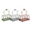 <strong>Woodland Imports</strong> The Handy Metal Basket (Set of 3)