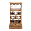 <strong>9 Bottle Tabletop Wine Rack</strong> by Woodland Imports