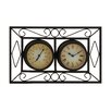 <strong>Attractive Unique Styled Metal Wall Clock</strong> by Woodland Imports