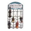 <strong>Woodland Imports</strong> 12 Bottle Wall Mount Wine Rack
