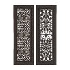Woodland Imports 2 Piece Beautiful Styled Wood Panel Wall Décor Set
