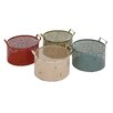 Woodland Imports The Useful Metal Basket (Set of 4)