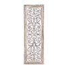 Woodland Imports Attractive Wood Panel Wall Décor