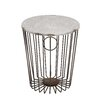 Woodland Imports Classy Fascinating Metal Wire Stool
