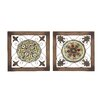 Woodland Imports 2 Piece Attractive Wall Décor Set
