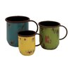 Woodland Imports 3 Piece Cup Planter Set