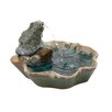 Woodland Imports Ceramic Frog Fountain