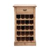 <strong>Woodland Imports</strong> Cool 20 Bottle Wine Rack