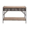 <strong>Perfect Wood / Metal Console Table</strong> by Woodland Imports