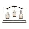 Woodland Imports Auspicious Metal / Glass Votive