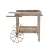 <strong>Woodland Imports</strong> Magical Decorative Wood / Metal Handcart