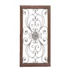 Woodland Imports Large Metal / Wood Wall Décor