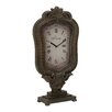 <strong>Customary Elegant Styled Wood Table Clock</strong> by Woodland Imports