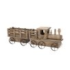 <strong>Woodland Imports</strong> Amazing Wood Train Planter