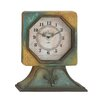 <strong>Antique Designed Wood Table Clock</strong> by Woodland Imports