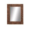 <strong>Woodland Imports</strong> Grand Wood Wall Mirror