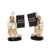 <strong>Woodland Imports</strong> 2 Piece The Cutest Chef Figurine Set