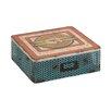 Woodland Imports Nostalgic Metal / Wood Box